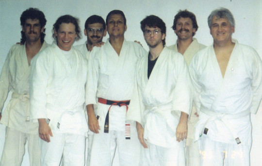 The Official Founding of Brazilian/Gracie Jiu-jitsu in Canada. July 1993-if you are not in this photo you had nothing to do with the founding and establishment of BJJ in Canada