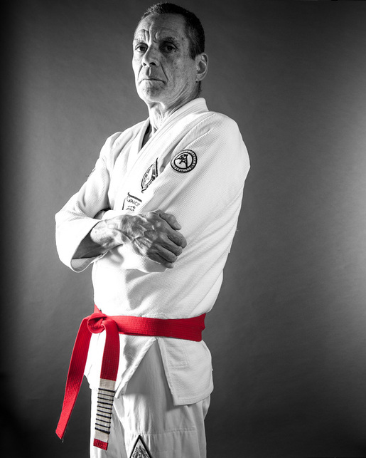 Relson Gracie, cousin of Reylson Gracie and the founder of Gracie Jiu-jitsu in Hawaii. I believe Relson has been teaching in Hawaii since 1988 and is now a 9th Degree Red Belt.